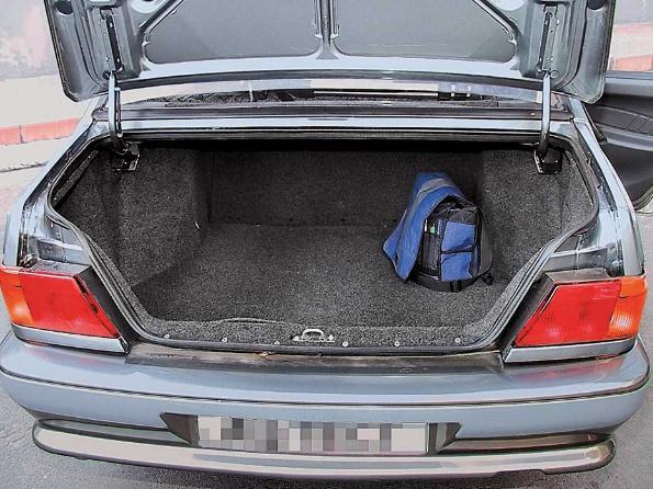 ваз 2115 багажник