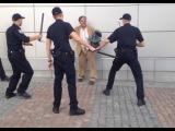 Киевский бездомный пять минут не давал полиции себя задержать - Первый по срочным новостям — LIFE | NEWS