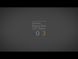 Pipeline/Rigging Reel 2013