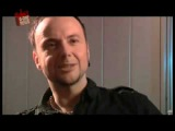 Paul Landers from Rammstein on A1TV interview (Moscow, 2010)