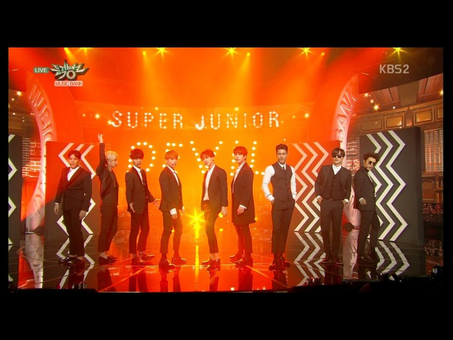 20 июл. 2015 г.SUPER JUNIOR 슈퍼주니어 Comeback Stage 'Devil' KBS MUSIC BANK 2015.07.17