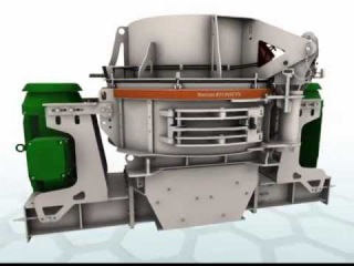 Metso Barmac B Series VSI Machine Animation