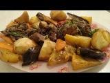 Баранья нога в духовке Рецепт запеченная с овощами вкусно Вторые блюда из мяса Б...