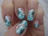 Дизайн ногтей гель лаком. Рисунок на ногтях. Nail designs. French manicure.