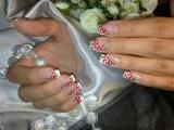 Nail designs. French manicure. Дизайн ногтей гель лаком. Простые рисунки на ногтях.