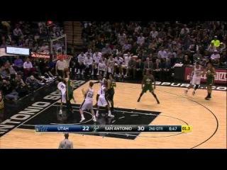 HD Utah Jazz vs San Antonio Spurs | Full Highlights | January 18, 2014 | NBA Season 2014/15
