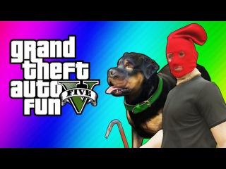 GTA 5 Online Funny Moments - Taser Dance, Chop Hump, Cargo Planes! (GTA 5 Fun Jobs)