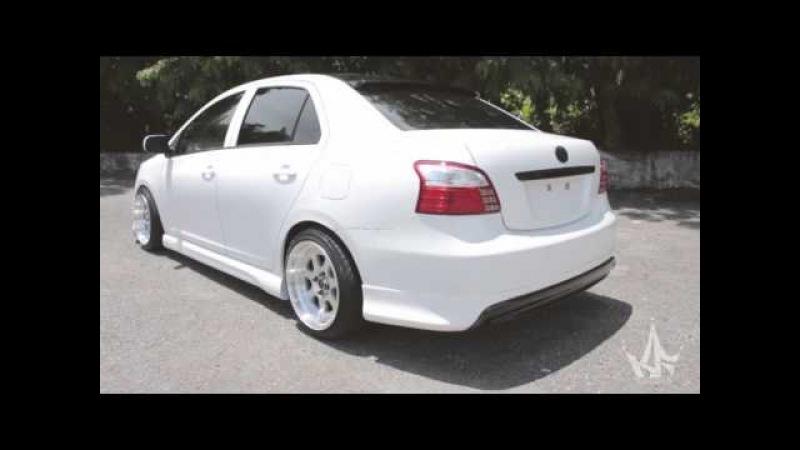 2006-up Toyota Yaris (Vios / Belta) Body kit   JDM   Hellaflush   King Fiber Design