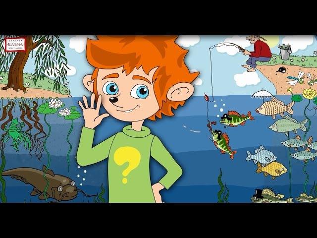 Познавательный мультфильм с Чевостиком Кто живет в реке (Серия 5)