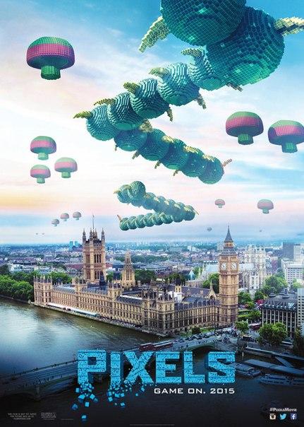 фильм пиксели онлайн смотреть бесплатно в хорошем качестве 2015 года