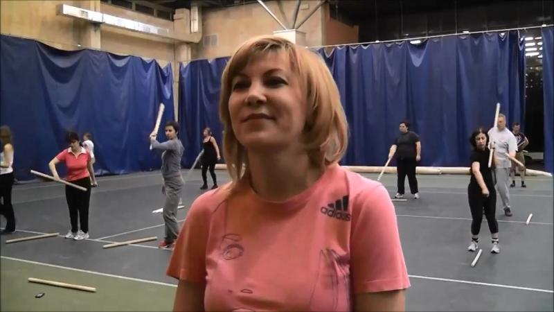 Гимнастика Спираль. Интервью занимающихся. Москва 2014 г.