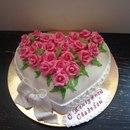 Торт на годовщину свадьбы 15 лет без мастики фото