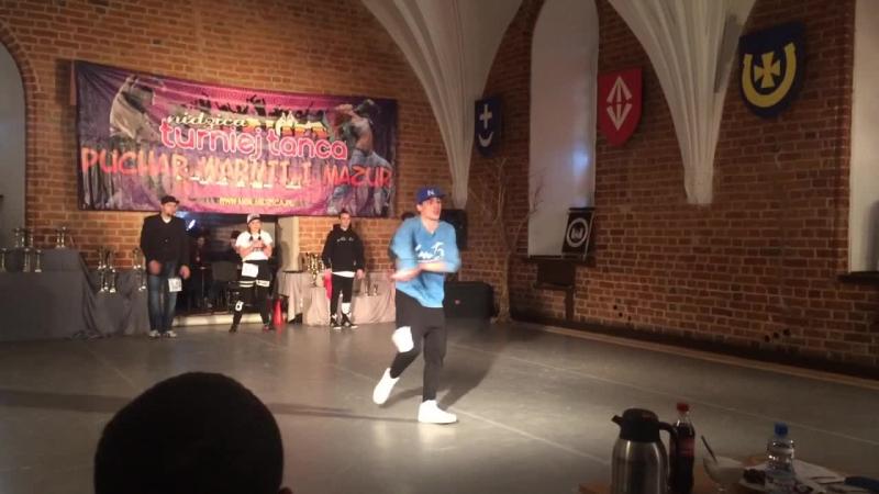 Bogdan Menzak - Solo Hip-Hop 1-miejsce