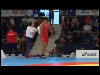 MANUKYAN Rafik (ARM) vs RUSSO Ciro (ITA)