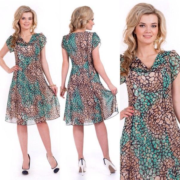 Платья из шифона фасоны для полных женщин