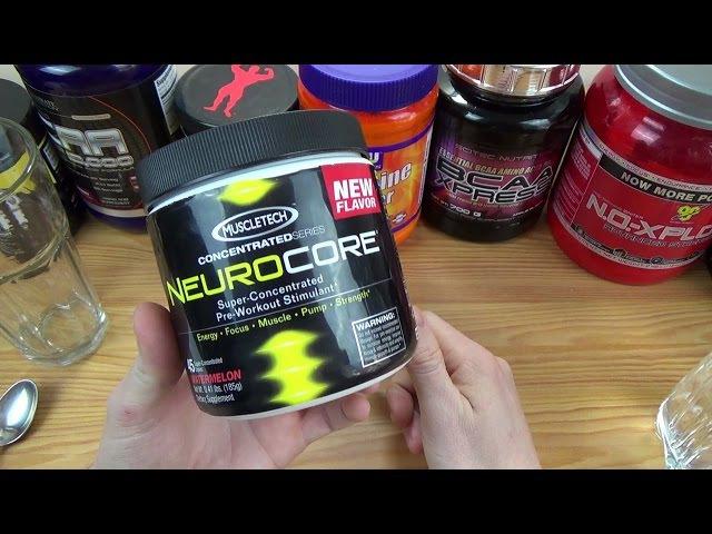 NeuroCore (MuscleTech) IHERB Проба!