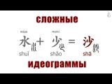 Китайские иероглифы, сложные идеограммы. Лекция 2.1