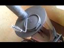 Банная печь Скоропарка с закрытой каменкой - испытания