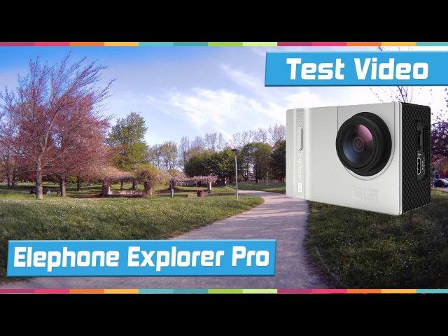 Elephone Explorer Pro 4K Action Camera: Test Video e Foto   PcExpert