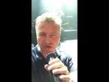 Леонид Агутин во Владивостоке перед концертом - Отец рядом с тобой - Репетиция