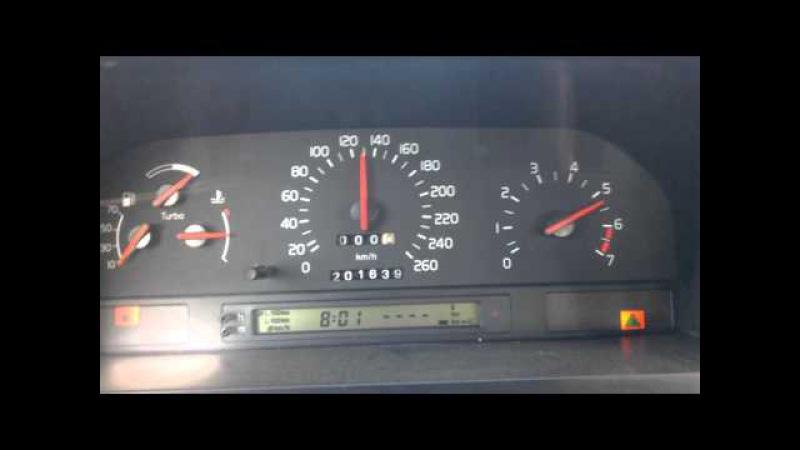 Volvo 850 T5 2.0t Acc 0-140kmh