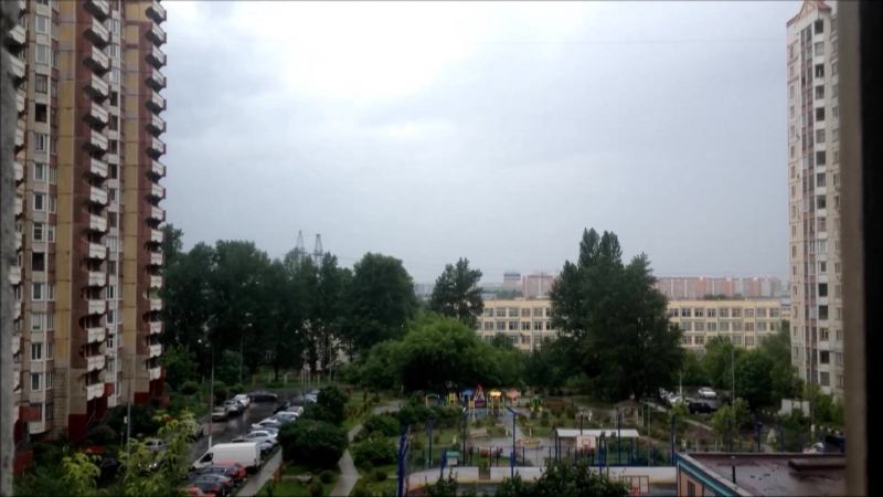 Biryulyovo West - Rain