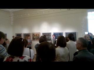 Выставка работ Зуфара Гаянова «Мои откровения», посвященная 75-летию со дня рождения художника.