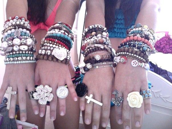 Браслеты модные своими руками фото