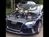Бешеная Audi RS7 Sportback | Автомобиль,машина,тачка,спорткар,суперкар,V8