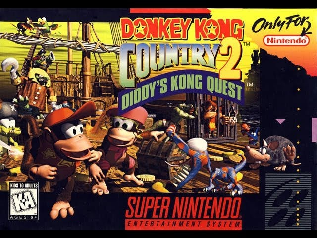 Donkey Kong Country 2 Diddy's Kong Quest Video Walkthrough