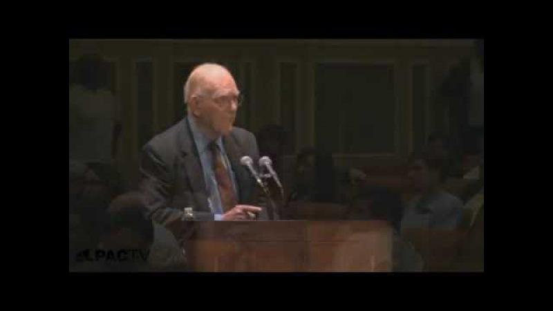 Lyndon LaRoche Lecture The True Controllers Of Israel Линдон ЛаРош Лекция Кто Контролирует Израиль