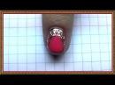 Дизайн ногтей ЛИТЬЕ 3. Видео уроки дизайна ногтей. Рисунки на ногтях. Дизайн видео.
