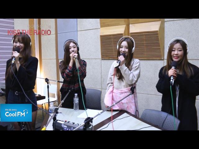 러블리즈 'Ah-Cho' 라이브 LIVE / 151106[슈퍼주니어의 키스 더 라디오]