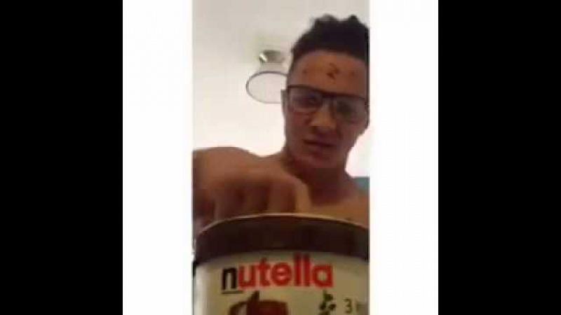 Dontjudgechallenge with nutella