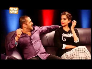 Salman Khan & Sonam Kapoor Exclusive Interview   Prem Ratan Dhan Payo   B4U Starstop Part 1