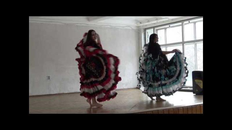 Цыганский танец 2 сестер Анастасии и Зефиры