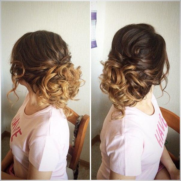 Причёска на волосы по плечи своими руками пошаговая инструкция фото