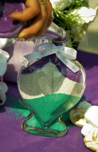 Цветной песок для свадьбы 185
