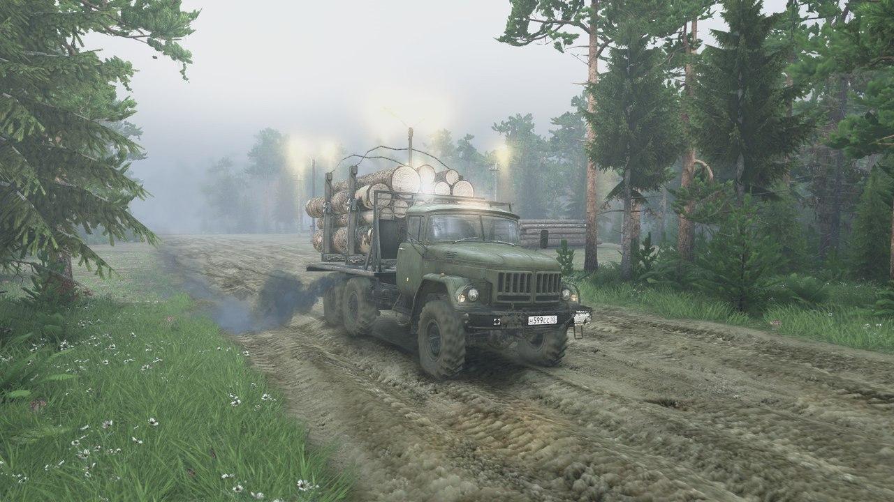Карта Leve Easy work для Spintires - Скриншот 3
