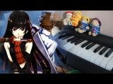Akame ga Kill ED2 月灯り (Tsuki akari ) Piano arr.EgOistHiuMan HQ
