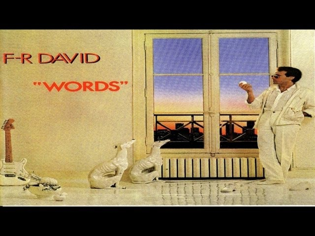 F.R. David - Words dont come easy - High Quality Official Music Video