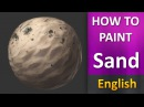 How To Paint in photoshop _ Sand ENGLISH