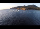Otter Rock OR, surf SUPVideo