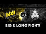 Big & Long fight  - Na`Vi vs Alliance @ DAC 2015
