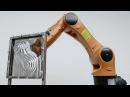 Точечная инкрементальная формовка пластика от Association for Robots in Architecture