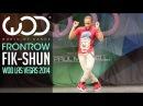 Fik Shun FRONTROW World of Dance Las Vegas 2014 WODVEGAS