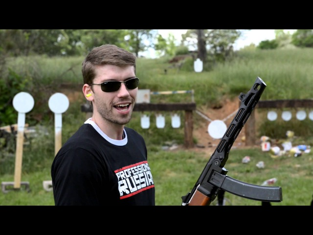 Russian PPSH-41 Fully Auto Fully Restored!