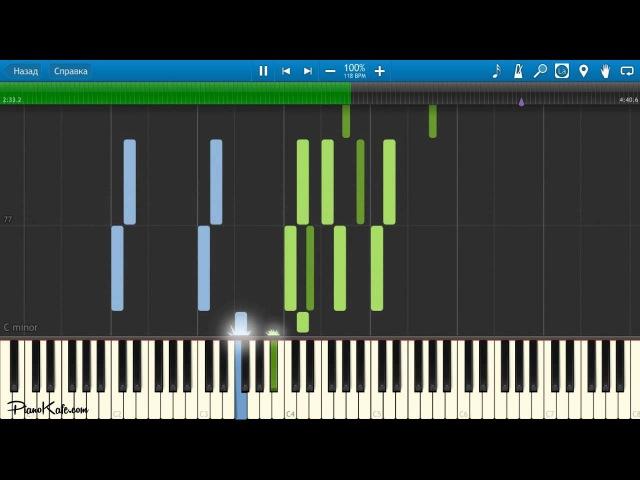 ВИА ГРА Это было прекрасно НОТЫ MIDI КАРАОКЕ PIANO COVER