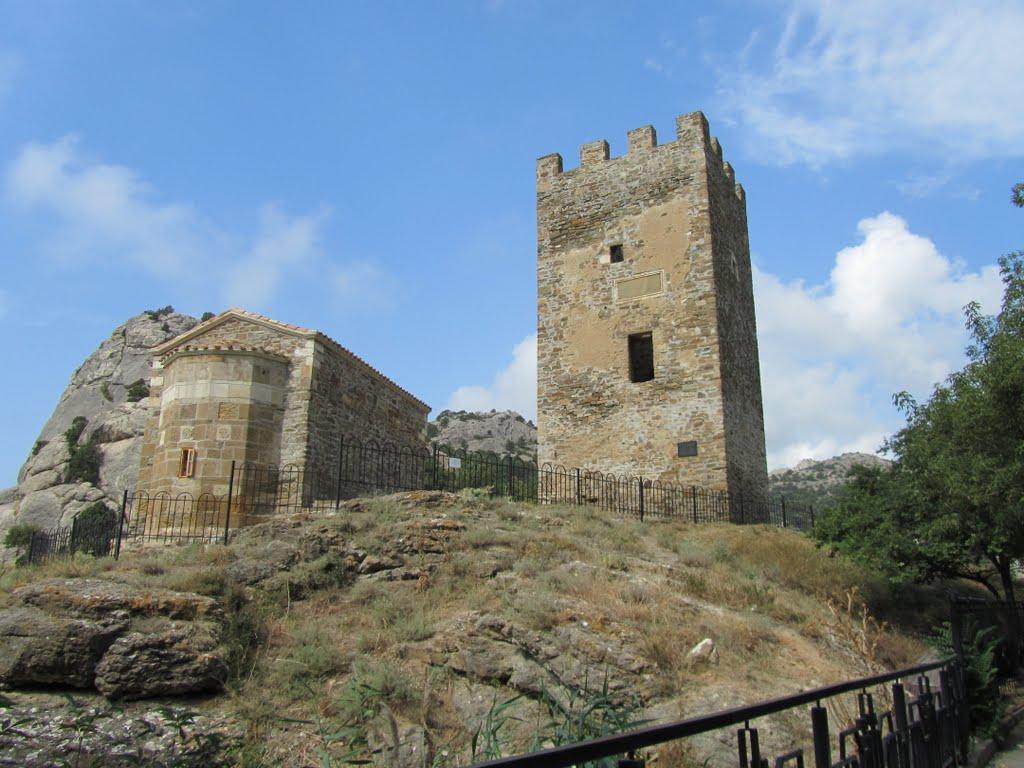 Портовая башня в Судаке