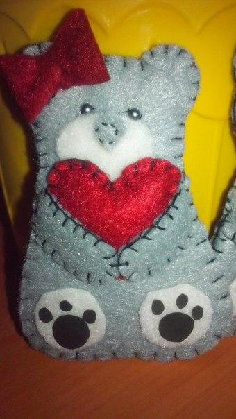 Милый мишка от нашей подписчицы (1 фото) - картинка